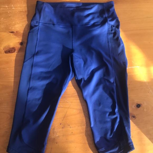 6f392f2c35 lululemon athletica Pants - Beautiful royal blue 3/4 length Lululemon pant